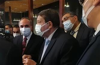 """زكي عابدين في افتتاح """"معرض الأهرام"""": العاصمة الإدارية الجديدة مخطط استراتيجي استثماري"""