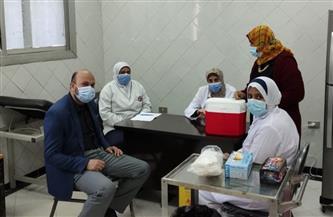 صحة المنوفية: بدء تلقي كبار السن وأصحاب الأمراض المزمنة للقاح فيروس كورونا | فيديو