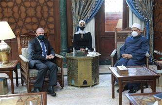 الإمام الأكبر يستقبل سفير أستراليا بمقر مشيخة الأزهر