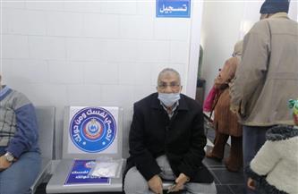 """مواطن بالفيوم لـ""""بوابة الأهرام"""": حضرت لتلقي تطعيم كورونا و""""مش قلقان""""   فيديو"""
