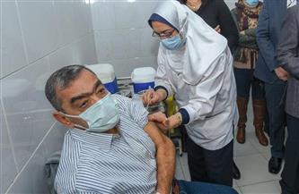 بدء تطعيم كبار السن وأصحاب الأمراض المزمنة بلقاح كورونا بمحافظة بورسعيد