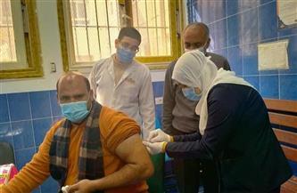 بدء تطعيم المواطنين بلقاح فيروس كورونا المستجد بالقليوبية | صور