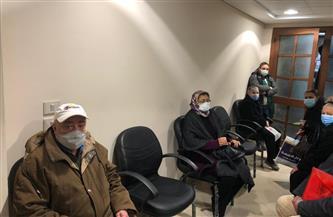 """إقبال كبير على لقاح كورونا بالإسكندرية..ومواطنون لـ""""بوابة الأهرام"""": """"شعرنا بالأمان بعد أخذ الجرعة""""  فيديو وصور"""