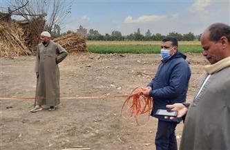 تسليم مواقع محطات الرفع بمشروع الصرف الصحي لعدد من القرى في قويسنا | صور