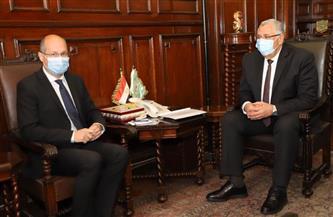 وزير الزراعة يبحث مع سفير المجر آفاق التعاون بين البلدين في المجالات الزراعية المختلفة