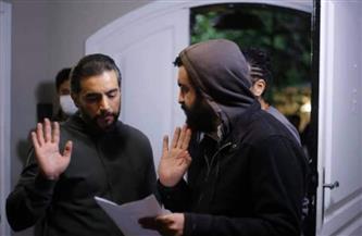المخرج «ماندو» مع هاني سلامة من كواليس «بين السما والأرض»