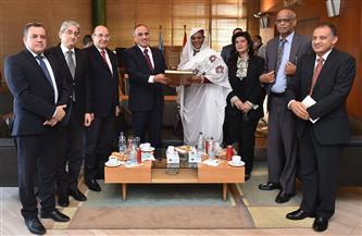 وزيرة خارجية السودان في ضيافة «الأهرام».. مريم المهدي: علاقتنا بمصر استراتيجية ومصيرية| صور