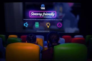 قاعات عرض سينمائية للمصابين بالتوحد في دبي  فيديو