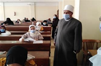 نائب رئيس جامعة الأزهر يتفقد سير أعمال الامتحانات في المنصورة |صور