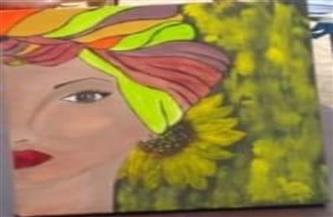 في يومها العالمي.. ندوة ومعرض فني لمناهضة العنف ضد المرأة في مكتبة مصر الجديدة| صور