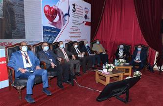 جامعة سوهاج تشارك في فعاليات المؤتمر السنوي الثالث لأمراض القلب والقسطرة |صور