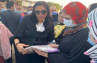 مستشارة وزيرة التضامن: الحماية والتمكين الاقتصادى جناحان يكملان بعضهما |صور