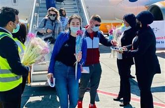 وصول أولى رحلات شركة هاي سكاي من مولدوفيا إلى مطار الغردقة الدولى