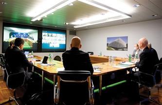 أبوريدة يحضر اجتماع «IFAB» عن طريق تقنية الفيديو