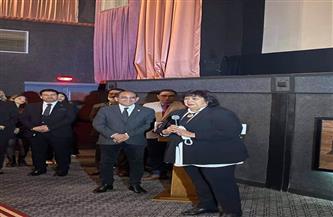 إيناس عبدالدايم: «سينما مصر» حلم تحقق.. والمشروع تحقق «بأيادي ولادنا»