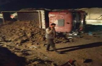 النيابة تحقق في مصرع 18 شخصًا وإصابة آخرين في حادث جنوب الجيزة