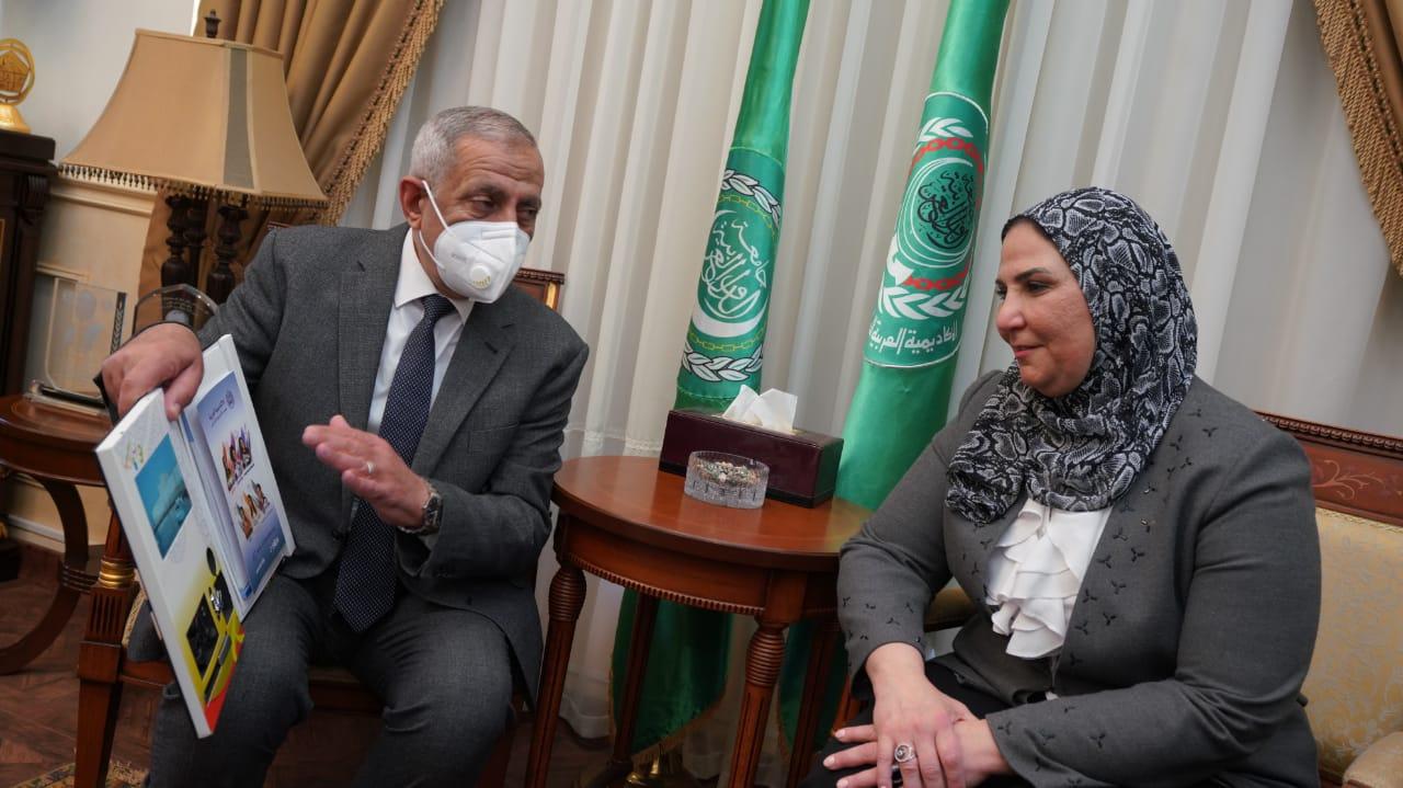 المؤتمر الدولي الثاني للأشخاص ذوي الاعاقة الذي أقيم بالأكاديمية العربية