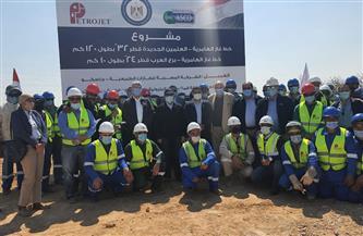 وزير البترول يتفقد أعمال تنفيذ مشروع خط غاز مدينة العلمين الجديدة| صور