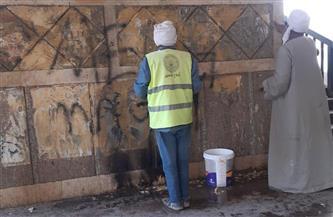 محافظ أسيوط: حملات نظافة وتجميل بحي غرب ومركز الغنايم| صور