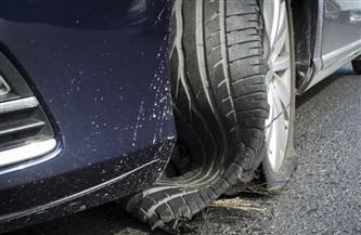 بعد حادث «الكريمات».. 9 خطوات تقلل حجم الكارثة أثناء انفجار إطار السيارة