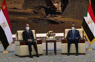 الرئيس السيسي والبرهان يبحثان تطورات الأوضاع بمنطقة الحدود السودانية الإثيوبية