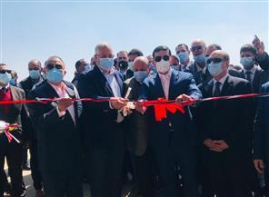 وزير الزراعة يفتتح مشروع محجر شركة الدلتا للإنتاج الحيواني بالإسكندرية | صور