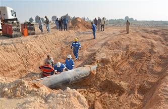 محافظة الجيزة تنفي حدوث كسر لخط غاز بالعمرانية