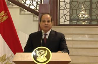 الرئيس السيسي: مصر ستظل داعمة لاستقرار السودان