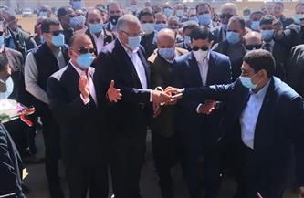 وزير الزراعة ومحافظ الإسكندرية ورئيس هيئة الاستثمار يفتتحون مزرعة الإنتاج الحيواني بالنوبارية