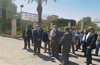 محافظ القاهرة يتفقد حدائق حيي غرب وشرق مدينة نصر