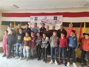 ١٢ ملاكما ناشئا لمشروع البطل الأوليمبي بجنوب سيناء  صور