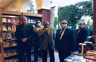 عبد المحسن سلامة يفتتح النسخة السادسة من معرض الأهرام الثقافي بنادي الجزيرة  فيديو وصور