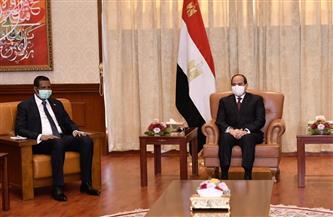 تفاصيل لقاء الرئيس السيسي مع نائب رئيس مجلس السيادة الانتقالي السوداني
