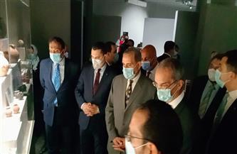 وزير الاتصالات يتقفد المتحف القومي بكفر الشيخ  صور