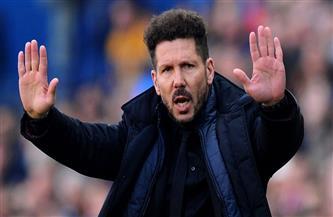 «سيميوني»: الفوز في الديربي لن يحسم لقب الدوري الإسباني لأتلتيكو