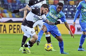 أودينيزي يفوز على ساسولو بهدفين نظيفين في الدوري الإيطالي