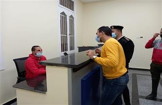 افتتاح أول مركز بكفرالشيخ لاستخراج شهادات الميلاد والوفيات والزواج للمقيمين بالخارج | صور