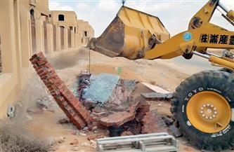 رئيس جهاز القاهرة الجديدة: حملات لإزالة التعديات وضبط المخالفات| صور