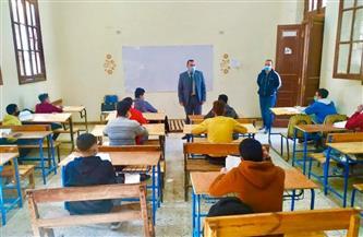تعليم المنوفية: انتظام سير امتحانات الشهادة الإعدادية دون مشكلات| صور