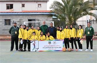 كفر الشيخ تشارك في دوري منتخبات البنات لكرة السلة للصم  صور