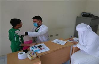 الكشف على 1440 مريضًا في قافلة طبية بكفر الشيخ| صور