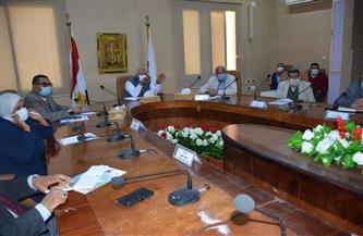محافظ الوادي الجديد يستقبل رئيس الهيئة العامة للطرق والكباري | صور