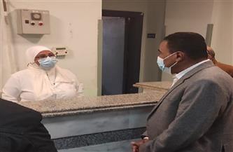 محافظ مطروح يتفقد مستشفى الضبعة المركزي| صور