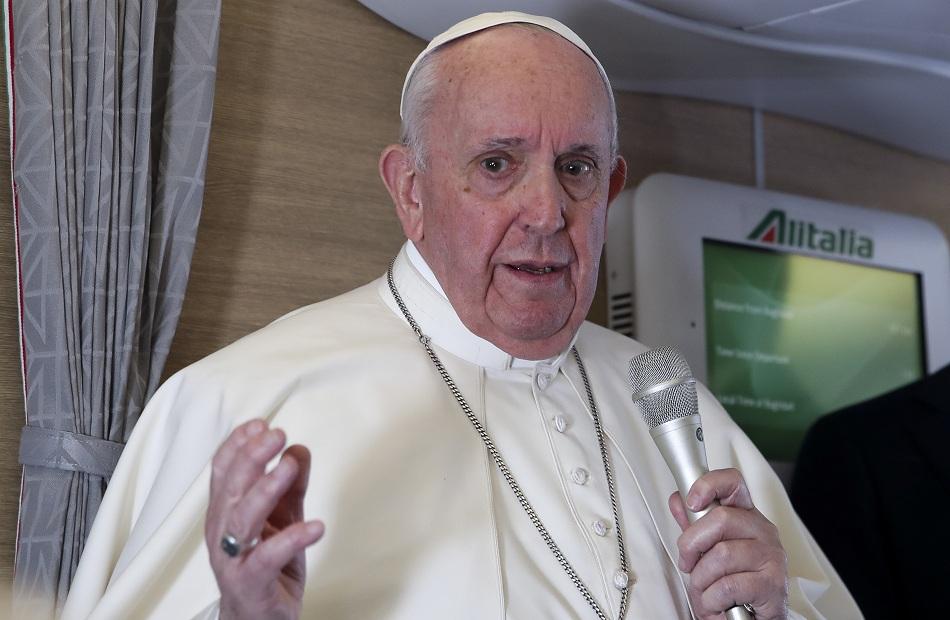 إيطاليا العثورعلى مظروف مرسل إلى بابا الفاتيكان بداخله  رصاصات