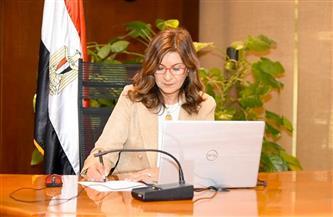 وزيرة الهجرة: المرأة المصرية تشهد عصرًا ذهبيًا وهناك إنجازات حقيقية في شتى المجالات | صور