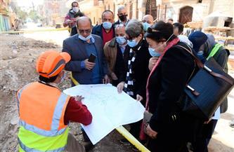 رئيس مياه الإسكندرية يتفقد مشروعات تحسين الخدمة بالمحافظة