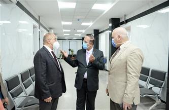 جامعة أسيوط: إنشاء نفق بين مستشفى الإصابات الجديد والمستشفيات الجامعية بتكلفة 20 مليون جنيه | صور