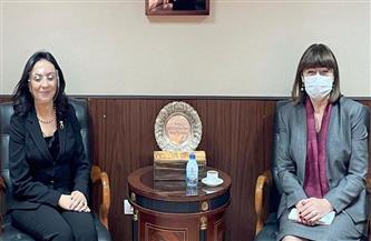 """منسقة الأمم المتحدة الجديدة تشيد بمايا مرسي وتصفها بـ""""القائدة الحقيقية من أجل النساء المصريات"""""""