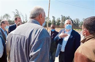 وزير الزراعة: رفع كفاءة الأصول التابعة لمركز البحوث الزراعية | صور