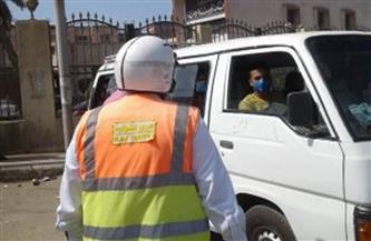 مرور كفر الشيخ: ضبط 1609 مخالفات مرورية على طرق المحافظة